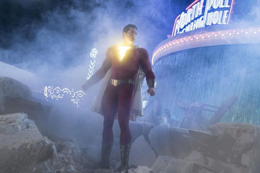 Zachary Levi admits he was not surprised the film-makers of Shazam! thought he was well-suited to play someone with the mind of a 14-year-old.