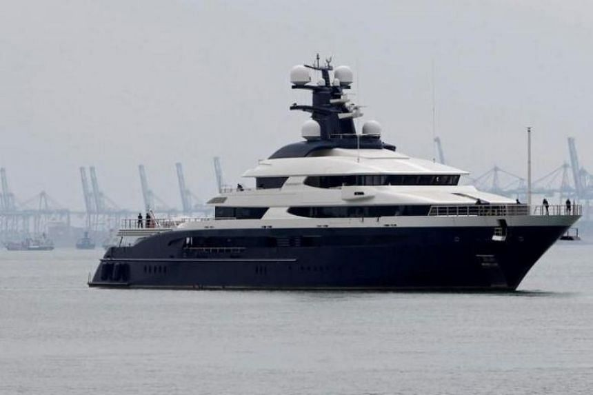 Malaysia To Sell 1mdb Linked Superyacht To Casino Operator Genting