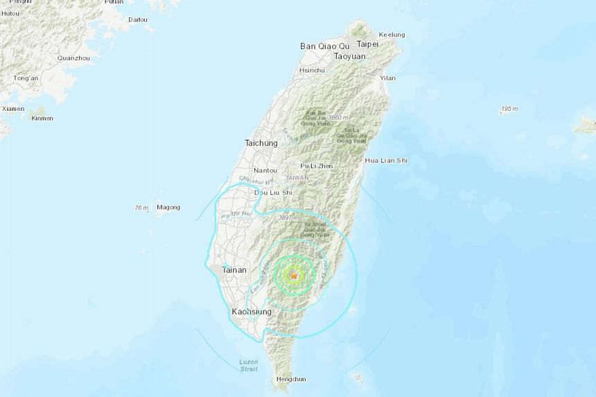 The earthquake had a depth of 10km but no other details were immediately available.