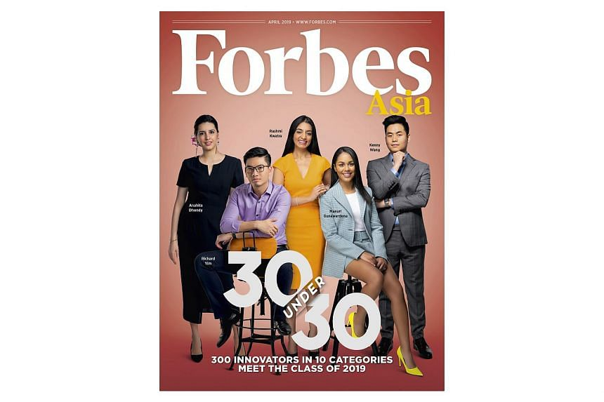 igloohome's chief operations officer Kenny Wang (above far right) makes this year's Forbes 30 Under 30 Asia list.