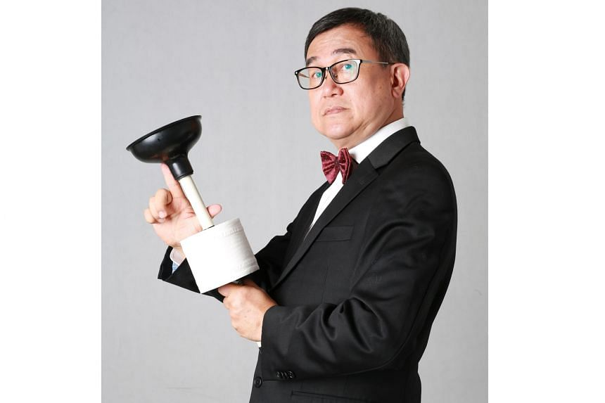 Mr. Toilet: The World's #2 Man, a documentary about toilet activist Jack Sim (above), was filmed over five years.