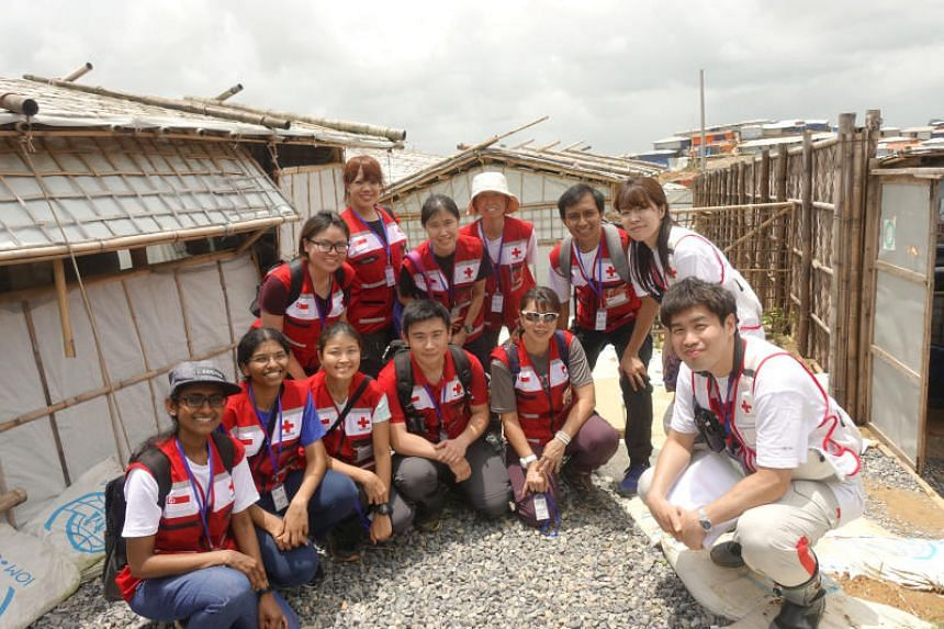 A medical mission by the Singapore Red Cross to Cox's Bazar, Bangladesh, in 2018.