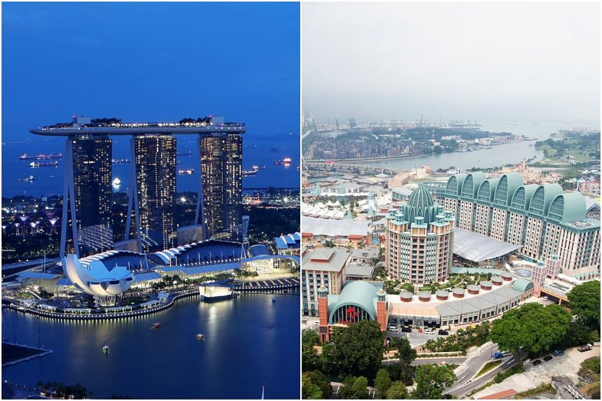 Marina Bay Sands and Resorts World Sentosa will be allowed to expand their casino operations, with their exclusive rights to run a casino here extended until the end of 2030.