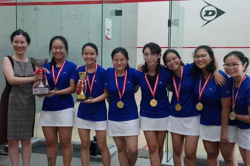 Singapore Chinese Girls' School also won last year's final by the same margin.