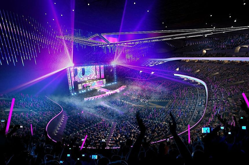 """Marina Bay Sands' new 15,000-seat arena will be built and optimised for concerts, with the aim of drawing A-list artists. Its planned state-of-the-art production capability will appeal to performers """"who might not have previously included South-east"""