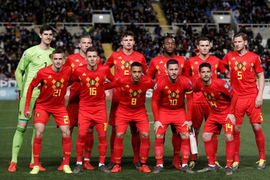 Football: Belgium top Fifa rankings again but England on the
