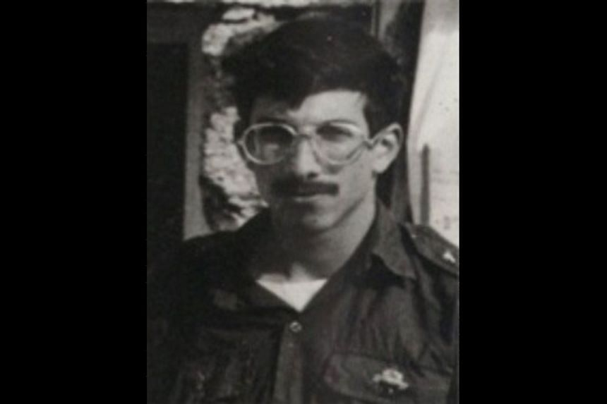An undated photo of Zachary Baumel, a US-born Israeli soldier missing since a 1982 tank battle against Syrian forces.