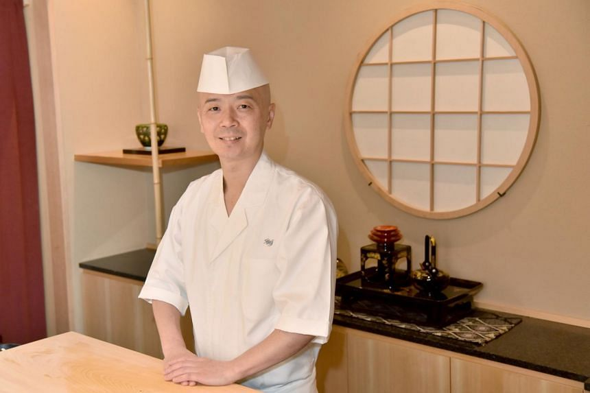 Chef Koichiro Oshino will serve Edomae-style sushi, featuring fish marinated with salt and/or vinegar.
