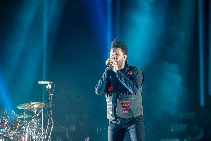 Canadian singer The Weeknd has been sued over a song that appears on his Grammy-award-winning album Starboy.