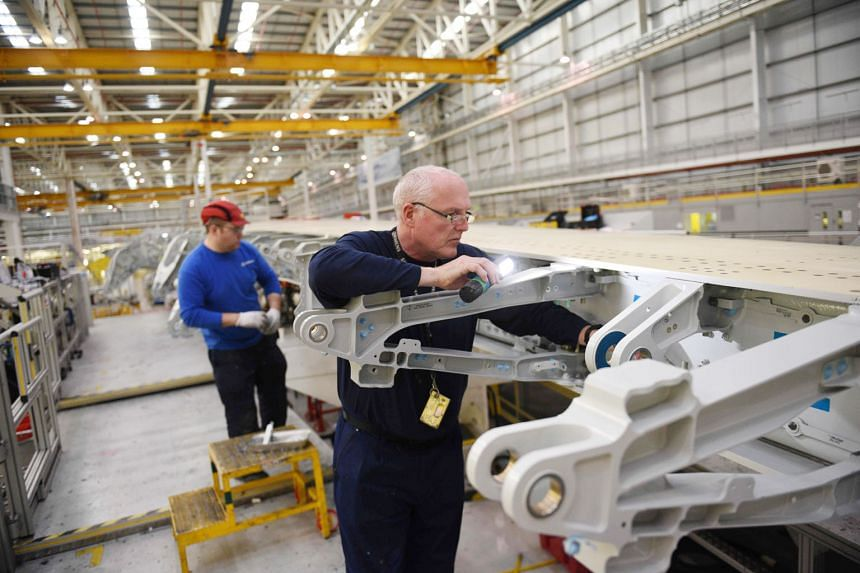A no-deal Brexit could harm Airbus' operations in Britain, warned the European aerospace giant's chief, Mr Tom Enders, in January. The company employs 14,000 people in the UK.