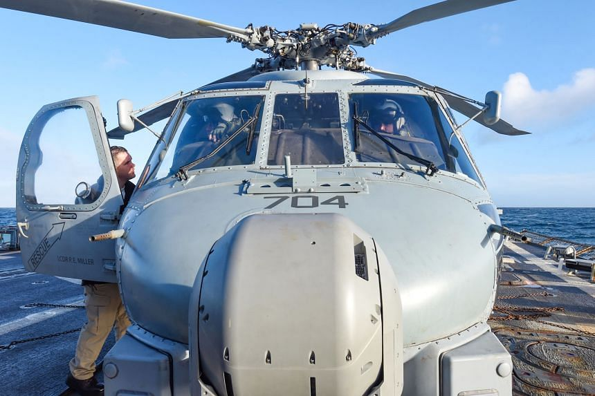 US approval of the sale of the MH-60R helicopters to India comes amid both countries' concerns over China's expansion in the Indian Ocean and Islamist extremism.