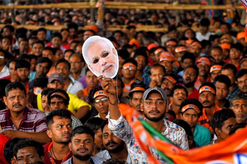 "Fears that various voter groups are planning to use the ""None of the above"" button to show their frustration with the political system has worried Indian Prime Minister Narendra Modi's backers."