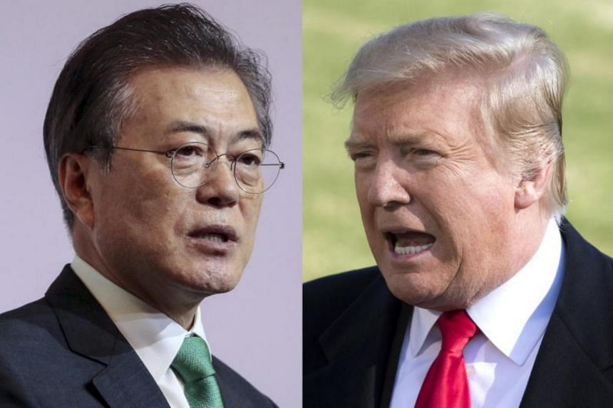 The economic penalties are expected to be a main topic of discussion when South Korean President Moon Jae-in meets with US President Donald Trump at the White House on April 11.