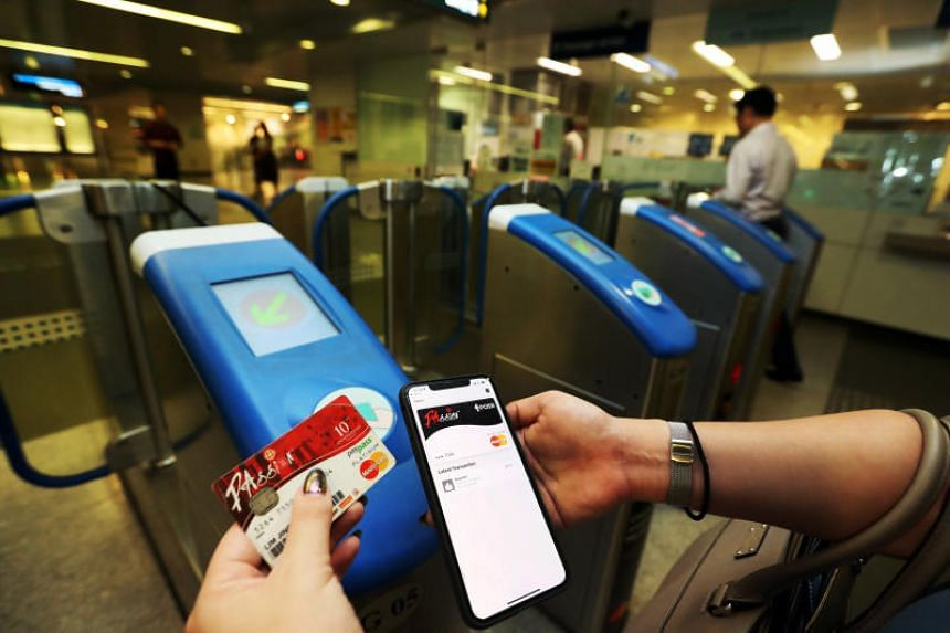 SimplyGo links a user's Mastercard credit or debit card to the transport providers.
