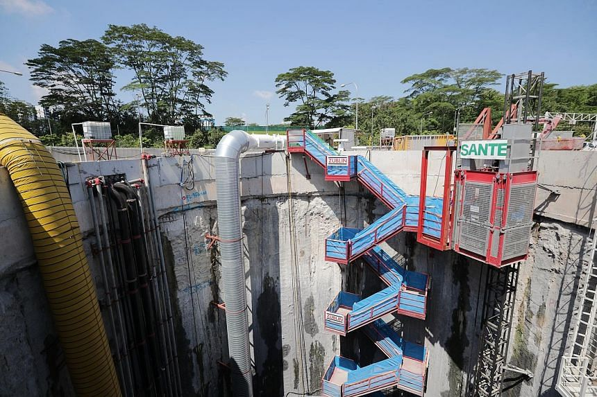 Work on the Deep Tunnel Sewerage System Phase 2 officially began yesterday at a PUB site in Jalan Bahar. Once completed, the labyrinth of pipes will comprise 40km of deep tunnels and 60km of link sewers.