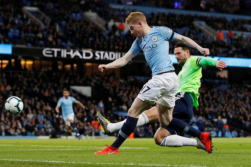 Manchester City midfielder Kevin de Bruyne has admitted that his goal against Cardiff in their Premier League clash on Wednesday was intended as a cross.
