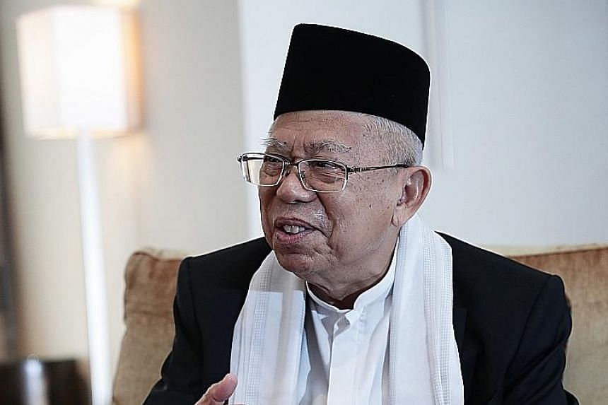Dr Ma'ruf Amin's old statement has resurfaced and is being seen as reinforcing his