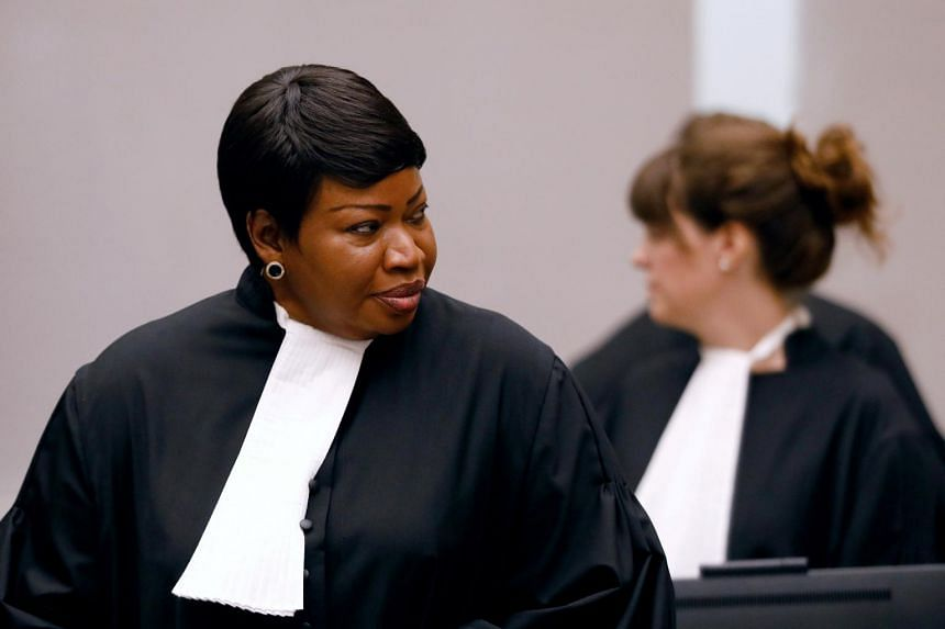 """The office of public prosecutor Fatou Bensouda said that she would pursue her duties """"without fear or favour""""."""