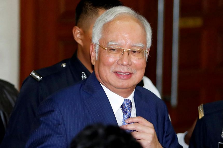 Malaysia's former prime minister Najib Razak faces seven charges of money-laundering and criminal breach of trust relating to a payment he allegedly received in his personal account from SRC International.