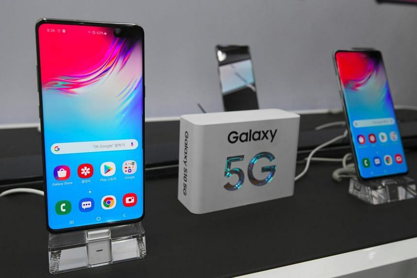 Samsung Releases World S First 5g Phone In South Korea East Asia