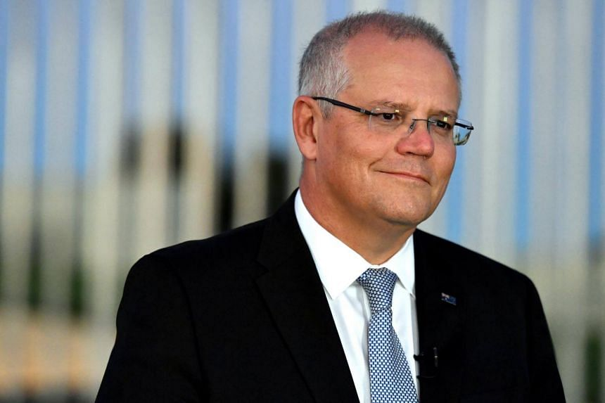 Australian Prime Minister Scott Morrison said his government was working with the Red Cross so the children could leave the Al-Hol camp in north-eastern Syria and Australian officials could assess them.