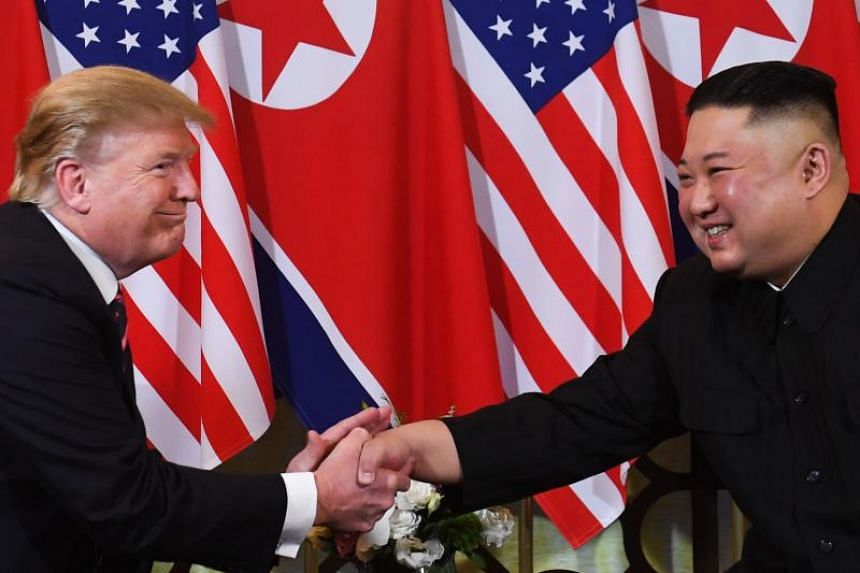 US President Donald Trump walked out of his last summit in Hanoi with North Korean leader Kim Jong Un in February 2019, with the sides failing to agree on denuclearisation and sanctions relief for North Korea.