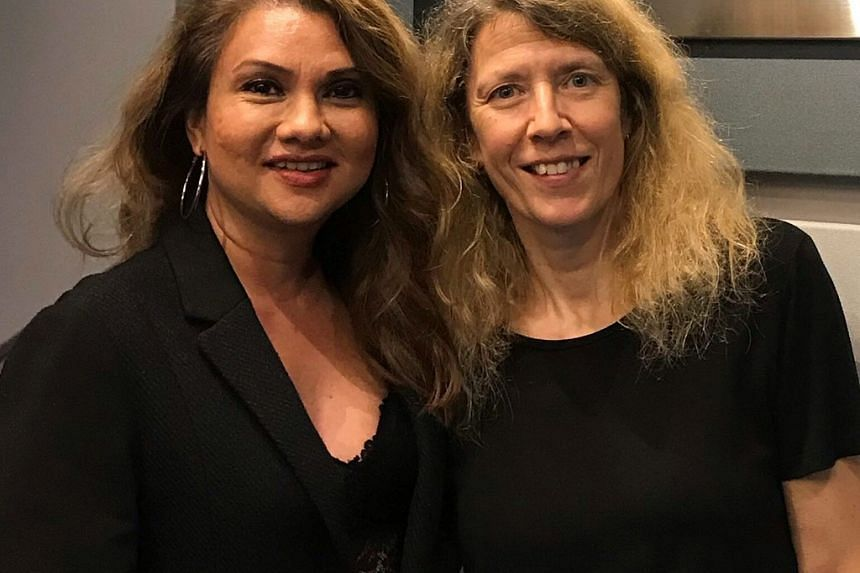 The author of Olivia and Sophia - Rosie Milne (right) - recounts with host Michelle Martin, the stories of Sir Thomas Stamford Raffles and his two wives, Olivia and Sophia, in this Money FM podcast.