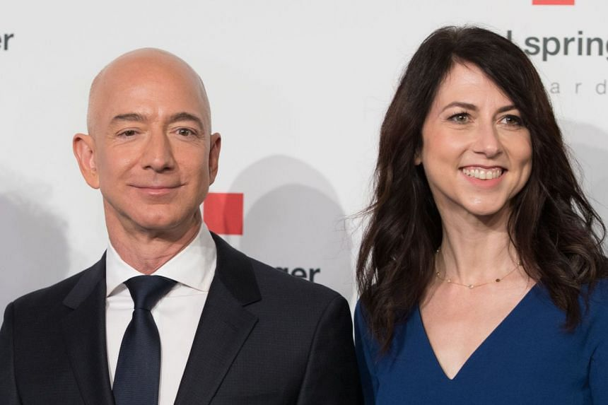 Jeff and MacKenzie Bezos announced in January 2019 that they were divorcing after a long separation.