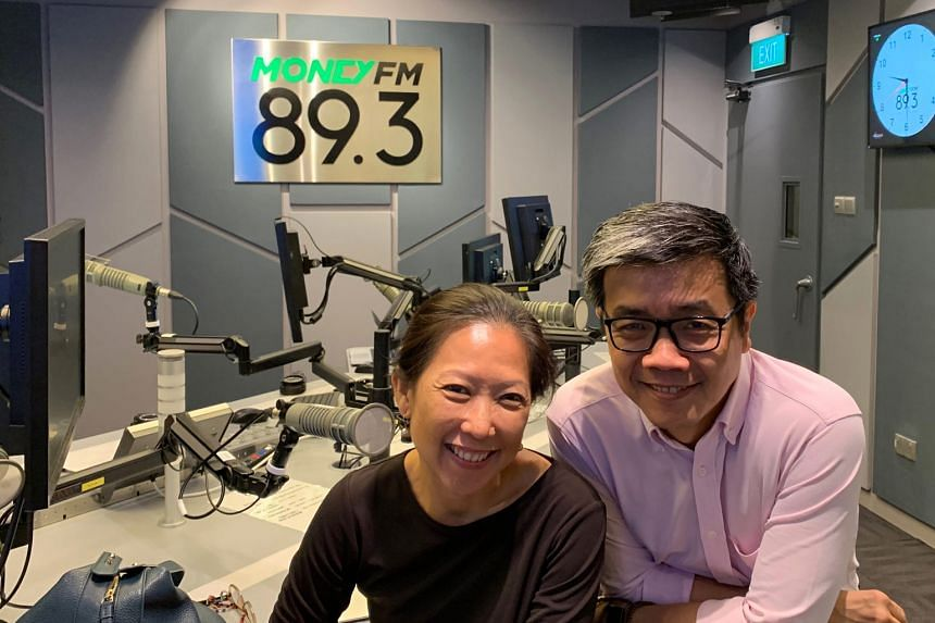 Howie Lau, chief industry development officer at IMDA (right) and Khim Loh, president of the Association of Independent Producers Singapore, appear in this Money FM podcast to talk about the media industry.