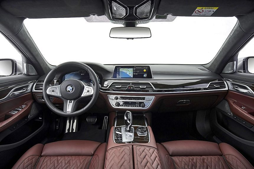 The latest 7 Series continues to offer a posh and commodious cabin.
