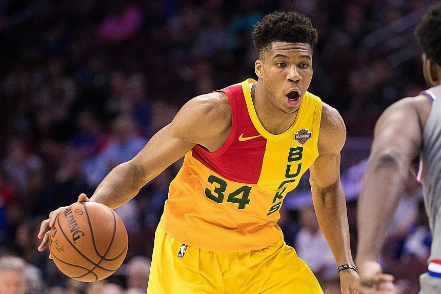 Giannis Antetokounmpo, the NBA's third-highest scorer, has led the Bucks to seal home-court advantage in the East.