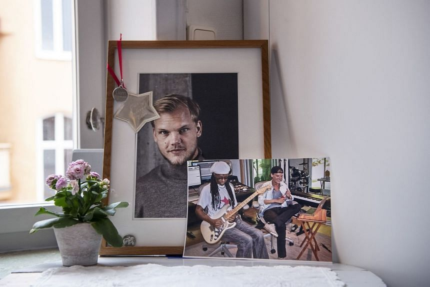 Images of Tim Bergling (DJ Avicii)  at his parents' home in Stockholm, March 9, 2019.