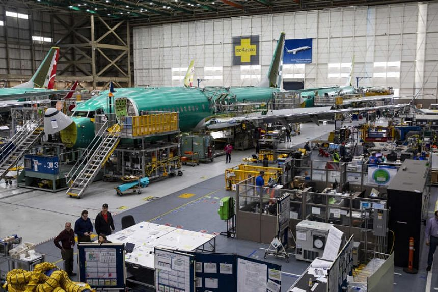 By slashing output 19 per cent - to 42 airplanes a month by mid-April - Boeing will be able to reduce its spending on the 737 and preserve cash.