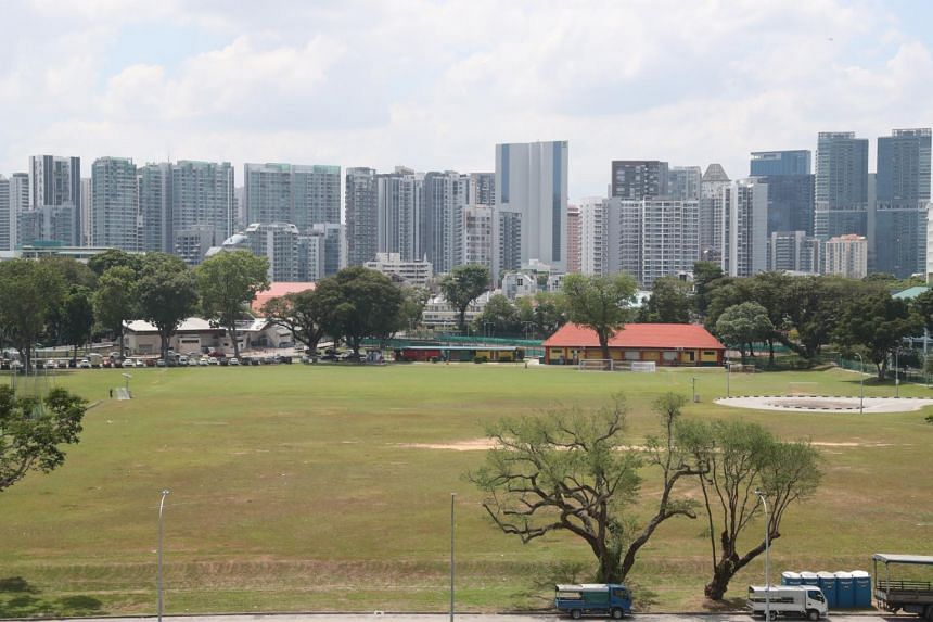 The plot of land at Farrer Park where the now defunct Farrer Park boxing gym was located.