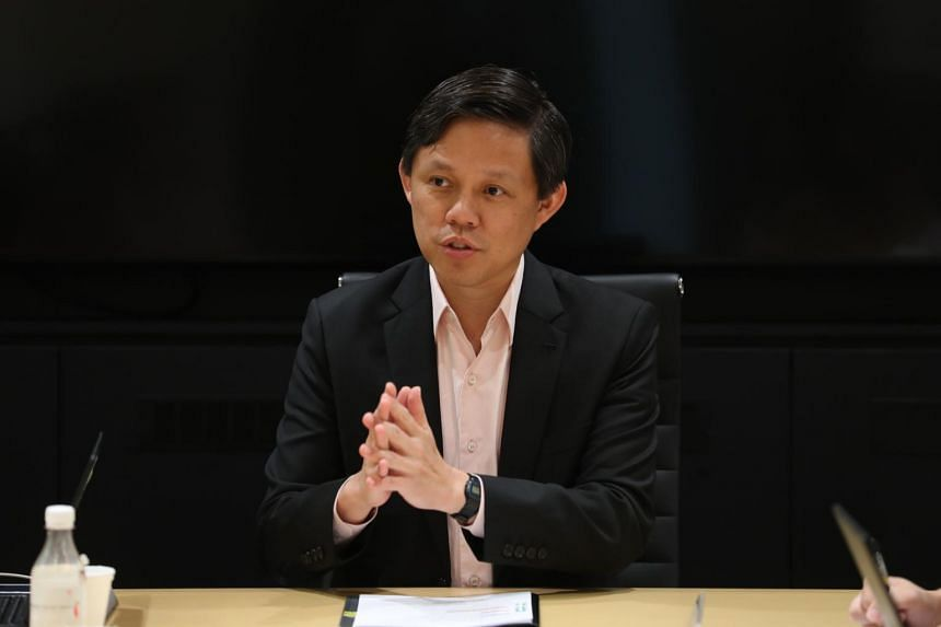 """Trade and Industry Minister Chan Chun Sing said Singapore should not wait until its attractions are """"so dated and (we) try to play catch-up""""."""