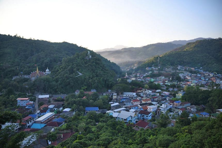 Tham Luang Forest Park is located in Mae Sai, in the far north of Chiang Rai Province.