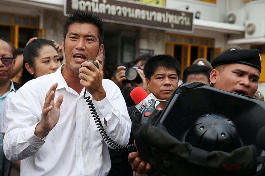 Thanathorn Juangroongruangkit formed the progressive, youth-oriented Future Forward Party last year.