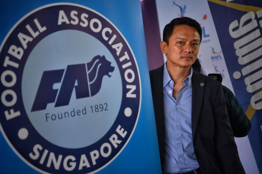Former FAS general secretary Winston Lee was embroiled in a Commercial Affairs Department probe that shook the local fraternity ahead of the FAS elections in 2017.