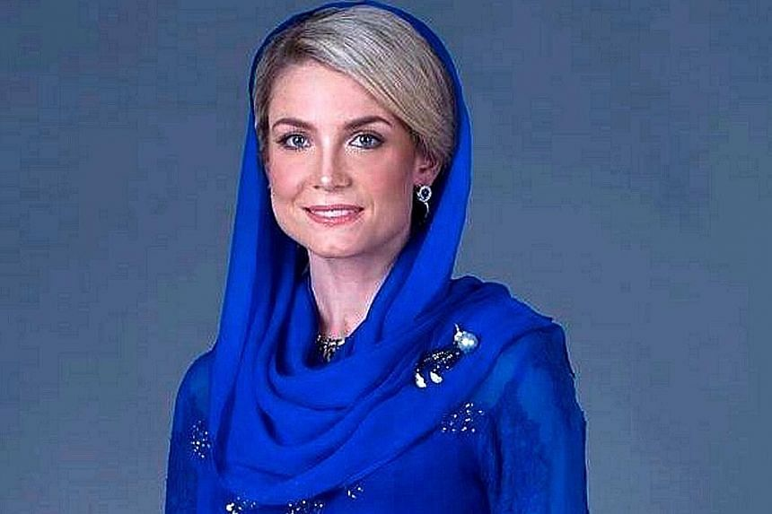 """Kelantan Crown Prince Tengku Muhammad Faiz Petra, 45, and Swedish national Sofie Louise Johansson, 33, will be marrying in a """"moderate scale"""" closed-door ceremony that will be attended by about 300 guests."""