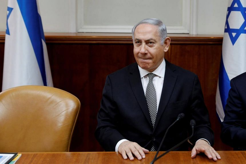 Israel's Prime Minister Benjamin Netanyahu is fighting for his political life while facing a dual threat in this year's election.
