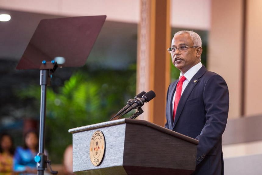 Maldives President Ibrahim Mohamed Solih's Maldivian Democratic Party is forecast to win more than 60 out of 87 constituencies, according to local media.