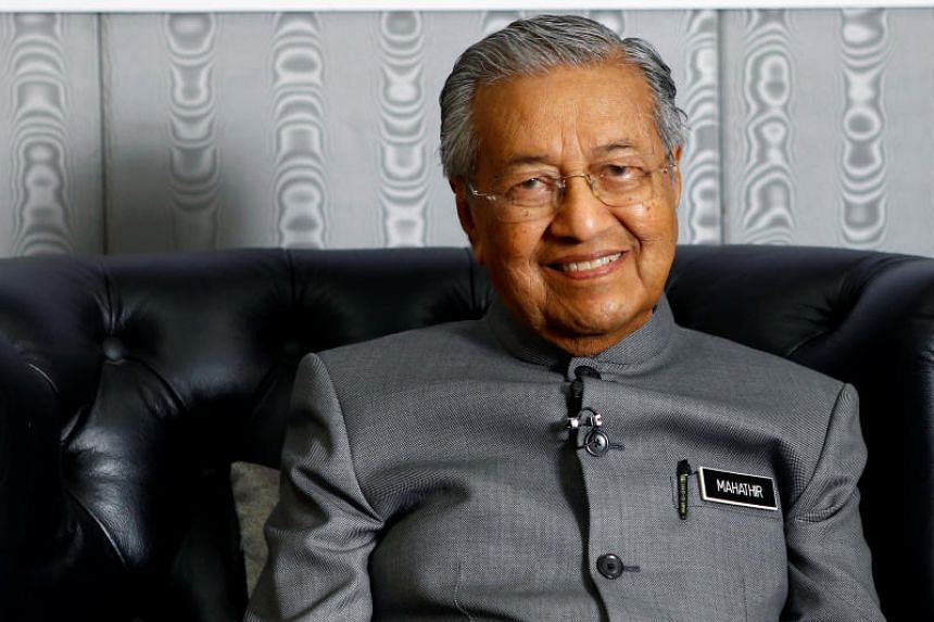 Malaysian PM Mahathir Mohamad said he found it more important to work with Anwar Ibrahim in order to displace former PM Najib Razak.