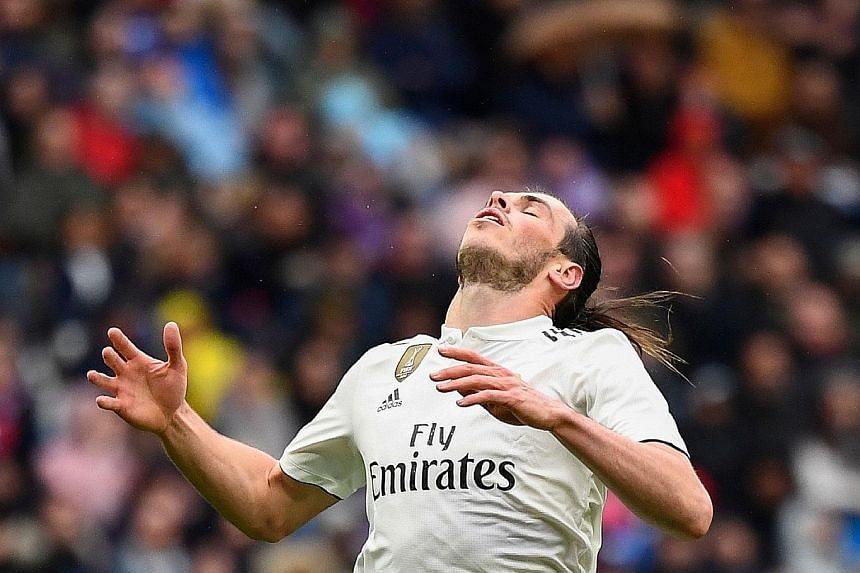 Gareth Bale showed he won't be missed, as he put on another lacklustre display on Saturday in Real Madrid's match against Eibar.