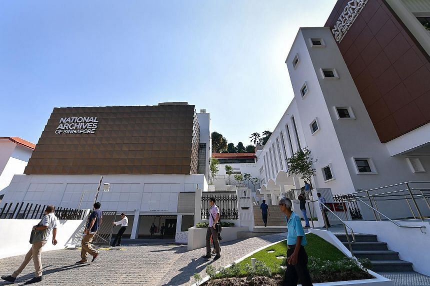 The revamped National Archives of Singapore building features new facilities that the public can use and activities that they can join in. Its Oldham Theatre has been expanded to hold 134 people, and the Asian Film Archive will also hold regular publ