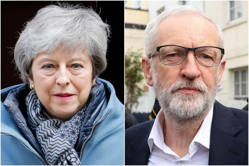 British Prime Minister Theresa May has defended her decision to work with Labour Party leader Jeremy Corbyn to help draft a new blueprint for leaving the EU.