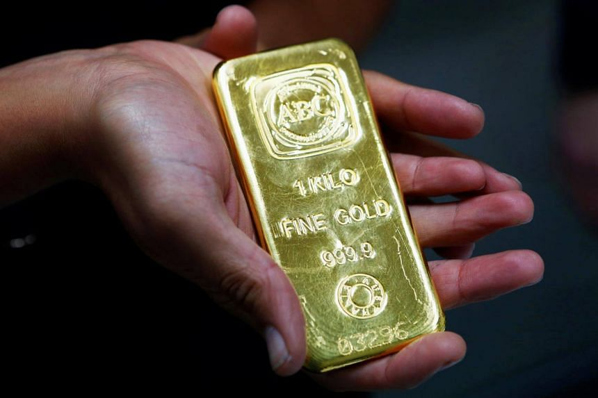 China, the world's top gold producer and consumer, is facing signs of a slowing economy.