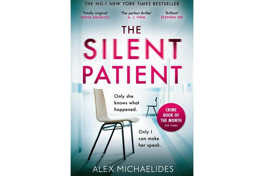 The Silent Patient by Alex Michaelides.