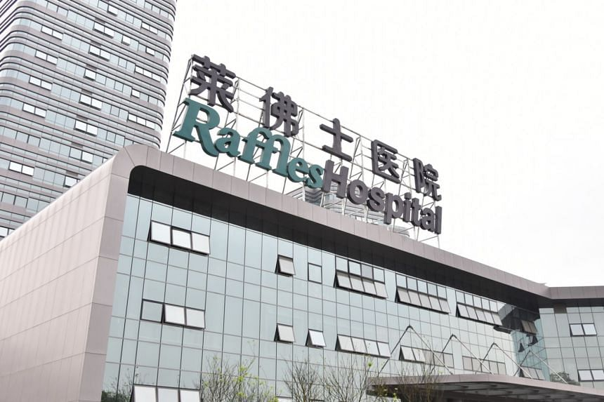 Raffles Hospital Chongqing, which opened in January, is Singapore's first tertiary hospital in China.