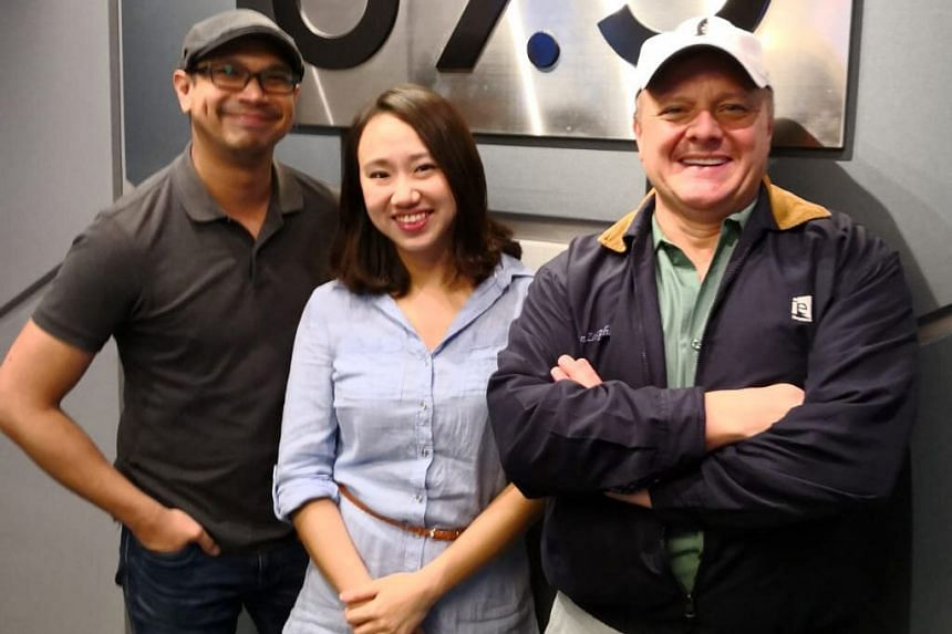 In this Money FM podcast hosted by Elliott Danker (left), SIA cabin crew member-turned-entrepreneur Yvonne Kwek (centre) - founder of The Humble Scoop - shares more on what it takes to start a new food and beverage venture with no previous experience