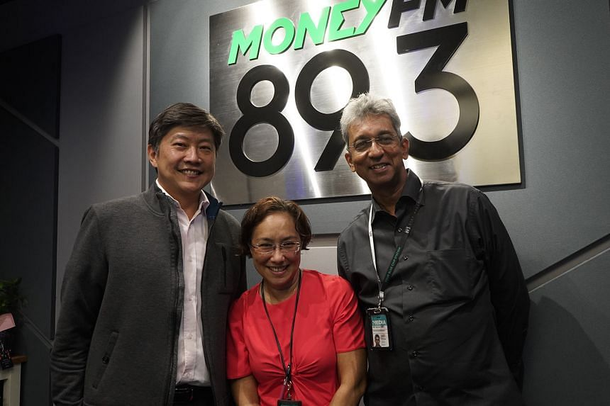 A special Coffee with Claressa interview with Minister Ng Chee Meng (left), Minister in the Prime Minister's Office and Secretary-General of the National Trades Union Congress (NTUC). Executive editor for SPH Radio (English/Malay/Tamil Media Group) V